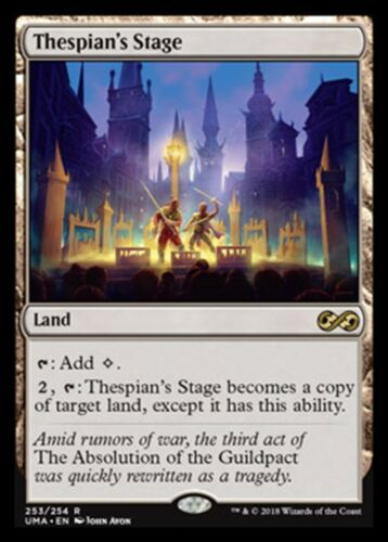 Thespian/'s Stage R NM//M Ultimate Masters MTG Magic -
