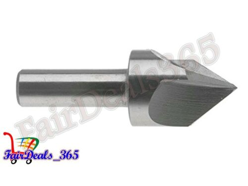 "3//4/"" Short CounterSink 3 Flute Center Reamer 82 Degree High Speed Steel"