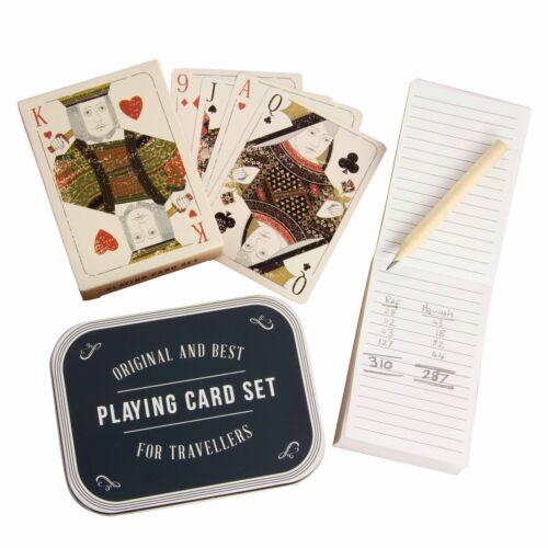 Scott /& Lawson Playing Cards in storage tin