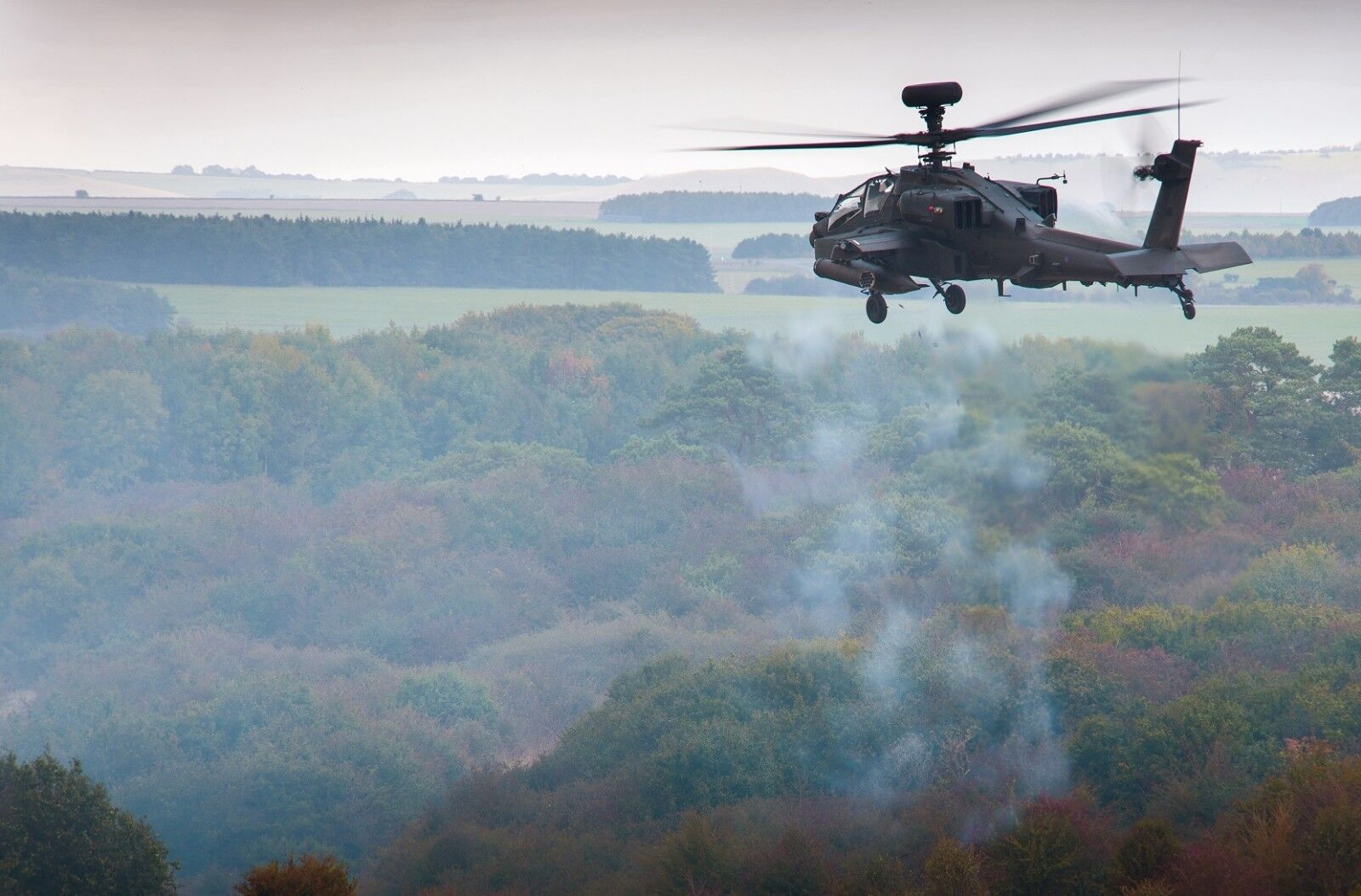 BRITISH ARMY APACHE HELICOPTER      Photo Print