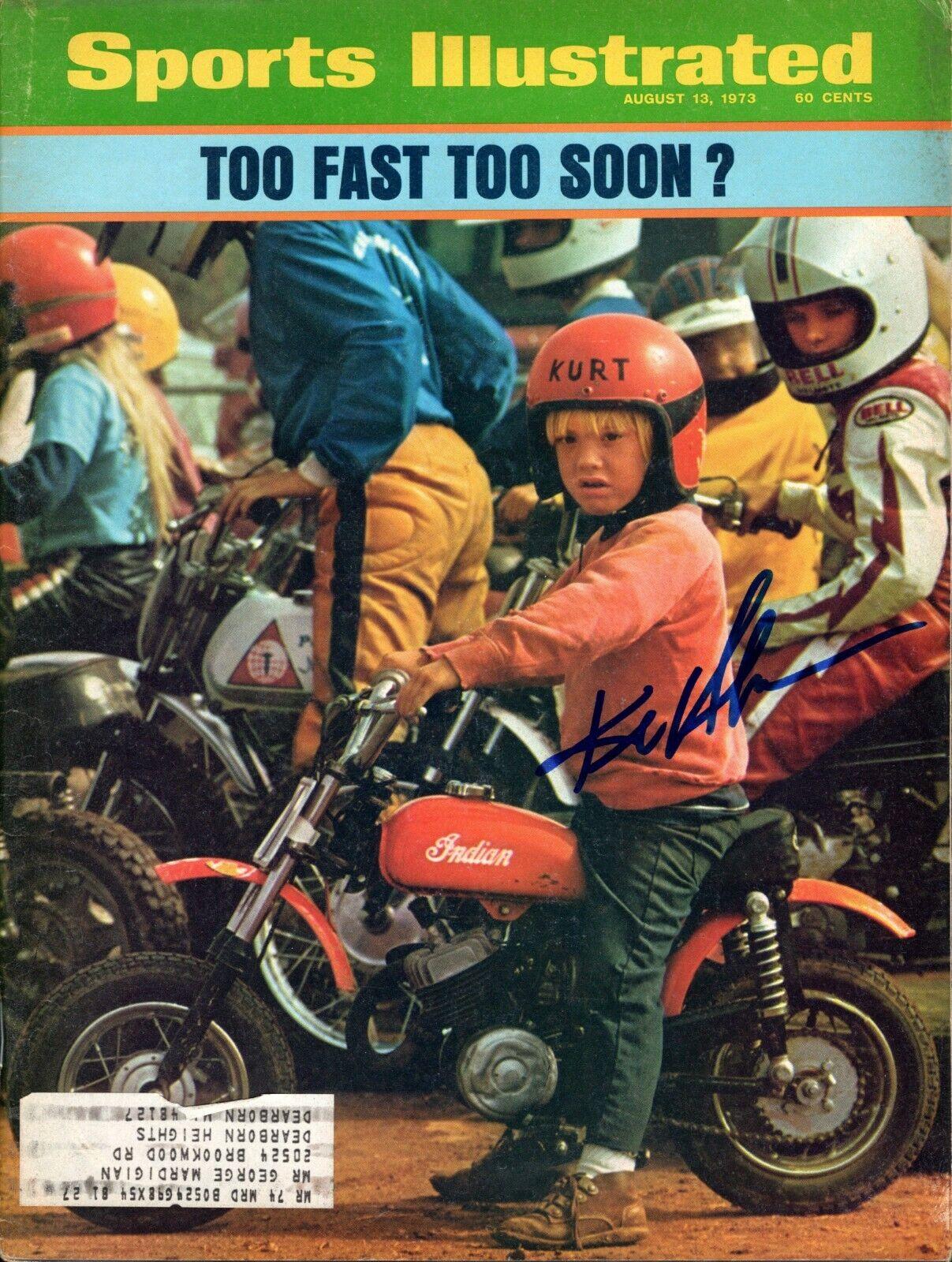 Kurt Henrickson Autografiado August 13 , 1973 Issue Sports Illustrated