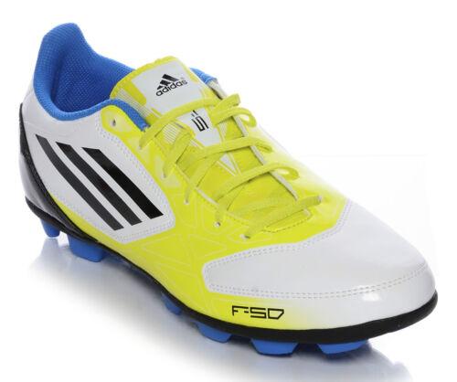 ADIDAS F5 TRX HG V21412 scarpe calcio uomo calcetto tacchetti alti giallo fluo