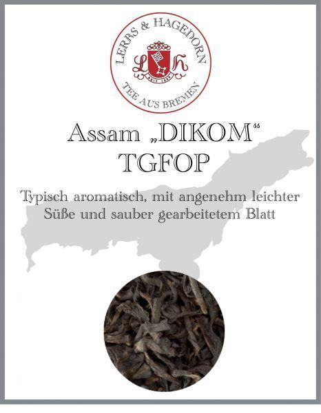 Assam Tea TGFOP Type DIKOM 2 Kg Light Cute Strong Full Bodied Harmonious