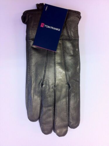 Ladies LEATHER Gloves Choice of COLOURS 2 SIZES GL146A