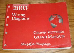 2003 Ford Crown Victoria    Mercury    Grand Marquis Wiring