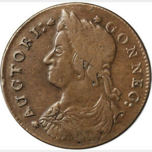1787-Connecticut-Copper-Miller-36-l-1-W-4070-Rarity-5-Draped-Bust-Left-VF-30