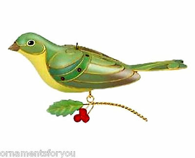 Hallmark 2012 Lady Painted Bunting Beauty of Birds  Limited Edition