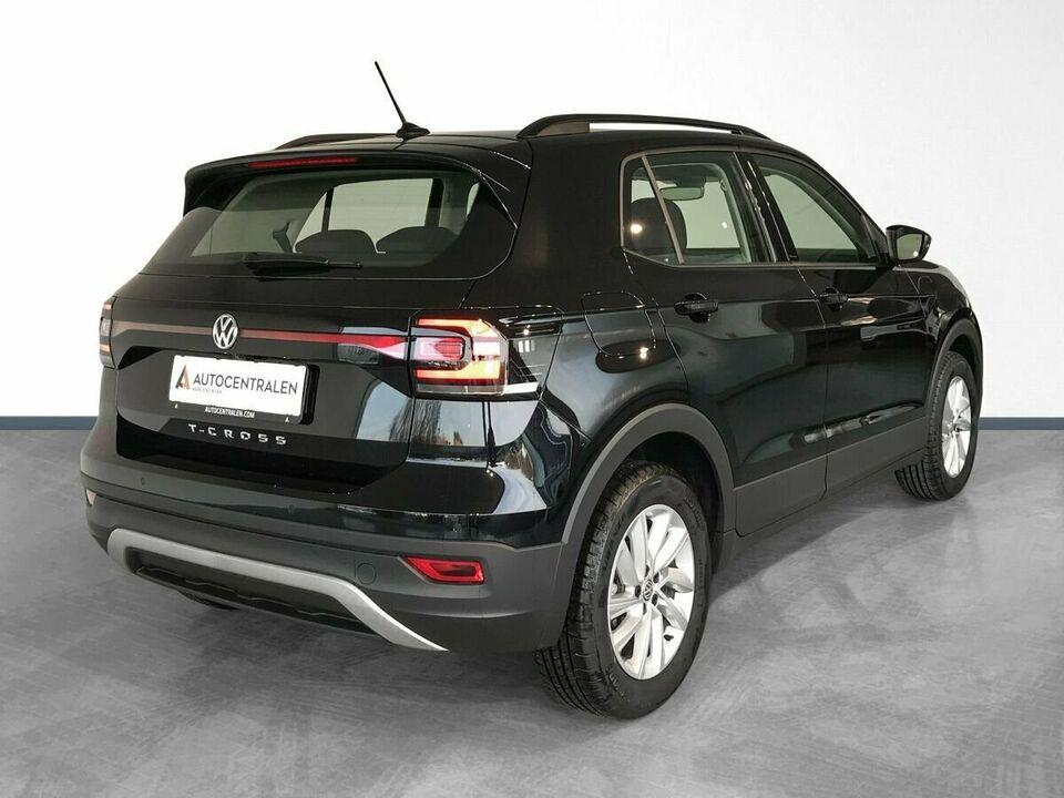 VW T-Cross 1,0 TSi 95 Life Van Benzin modelår 2020 Sortmetal