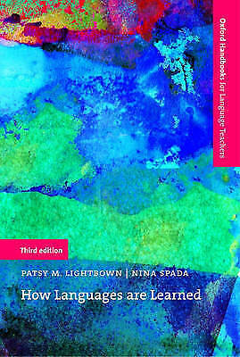 1 of 1 - How Languages are Learned: An introduction to the main theories of first and sec