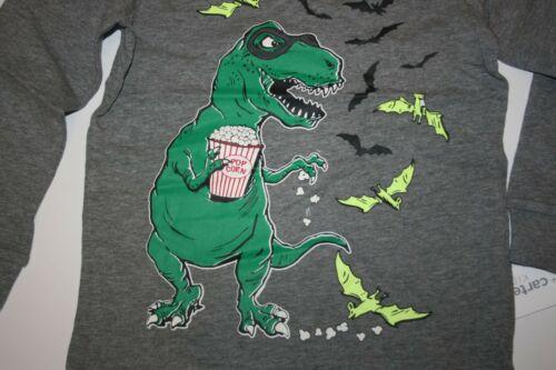 New Carter/'s Boys Bandit Dinosaur T Rex Popcorn Top Tee 4 5 6 7 8 10 12 14 year