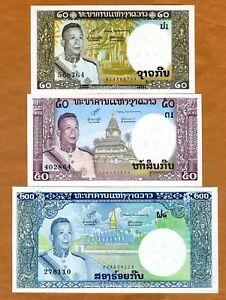com P 12 50  KIP nd 1963 LAO // LAOS UNC