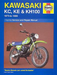 1975 1999 kawasaki ke 100 ke100 haynes repair manual 1371 ebay rh ebay com 2001 Kawasaki KE100 Parts service manual 2001 kawasaki ke100