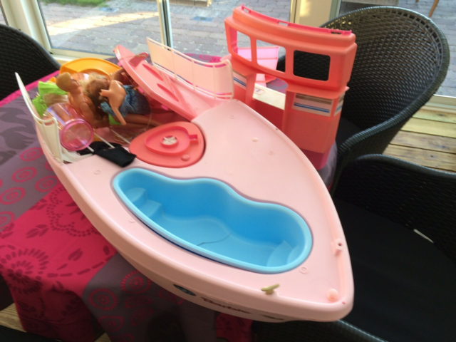 Barbie, Cruise shop, Kæmpe Barbie Cruise Ship med div.…