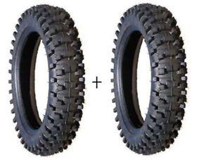 2x reifen 10 zoll schlauch cross dirt bike kxd 49cc. Black Bedroom Furniture Sets. Home Design Ideas