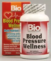 Bio Nutrition Blood Pressure Wellness 60 Tab