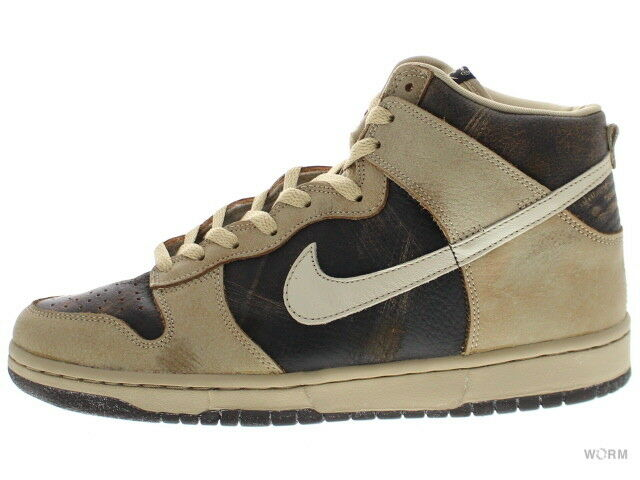 NIKE DUNK HIGH 308348-221 dark brown sand Size 9.5