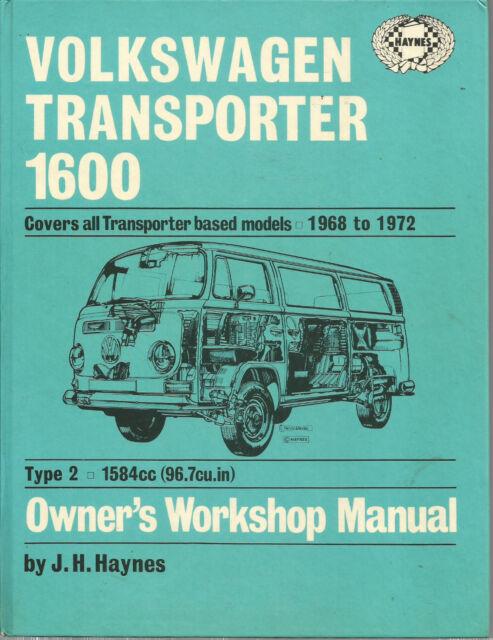 Volkswagen Transporter 1968-72 Owners Workshop Manual - Haynes