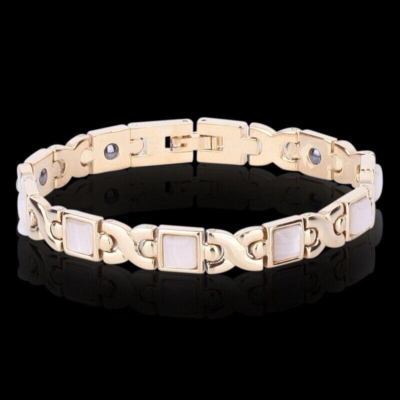 Men Women Therapeutic Energy Healing Magnetic Bracelet Therapy Arthritis Jewelry 6