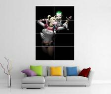 THE JOKER & HARLEY QUINN SUICIDE SQUAD BATMAN GIANT WALL ART PHOTO PRINT POSTER