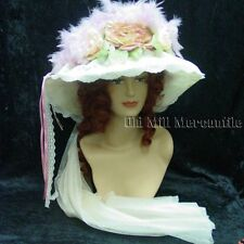 Vintage Victorian Edwardian style Elsie Massey 501 hat and hatpin