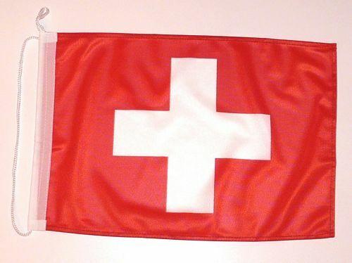 Bootsflagge Schweiz Bootsfahne Fahne Flagge