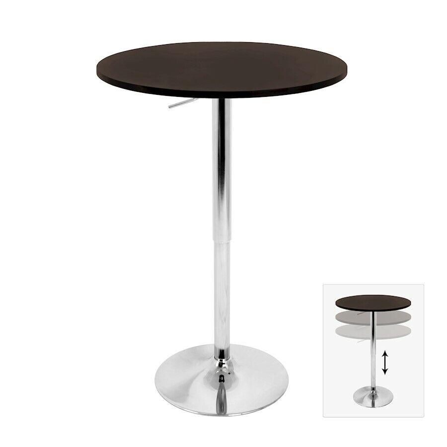 Lumisource réglable bar table, marron-BT-ADJ 23 twbn
