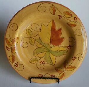 Los Angeles Pottery 95 Salad Plate Laurie Gates Design Autumn
