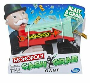 Monopoly-Cash-Grab-Game-by-Hasbro-Free-Postage-NEW