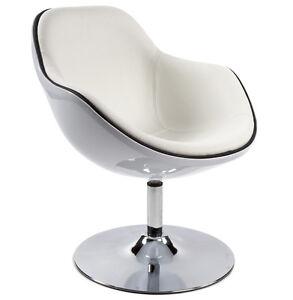 Poltrona conchiglia colore a scelta anni 70 bianco nero rosso shell armchair