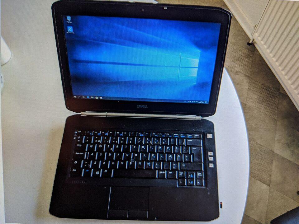 Dell Latitude E5420, 2.40 GHz Intel Core i5 GHz, 4 GB GB ram
