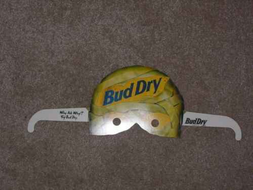 Bud Dry Mummy Halloween Mask  1990s