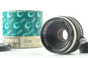 near-Mint-Canon-35mm-f-2-8-Typ-II-Leica-Screw-Mount-l39-LTM-Lens-aus-Japan