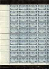 US AIRMAIL #C20, 25C STAMP TRANSPACIFIC ISSUE CHINA CLIPPER SHEET OF 50 MNH OG