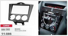 CARAV 11-086-15-6 stereo Fascia Installation dash Kit for MAZDA RX-8 double DIN