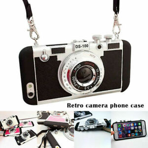 Emily in Paris 3D phone Cases Vintage Camera for IPhone 6 7 8 9 X XS Max Awsaccy