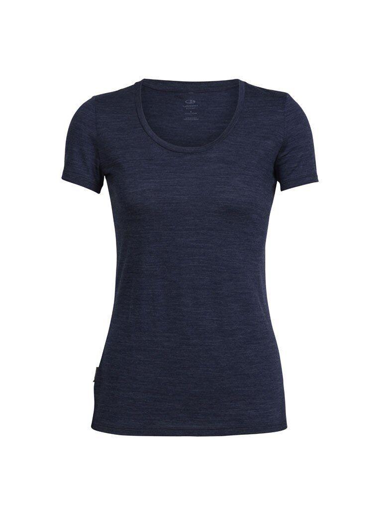 Icebreaker Tech Lite Short Sleeve Scoop Damen Shirt Merino-Wolle leicht 2 Farben