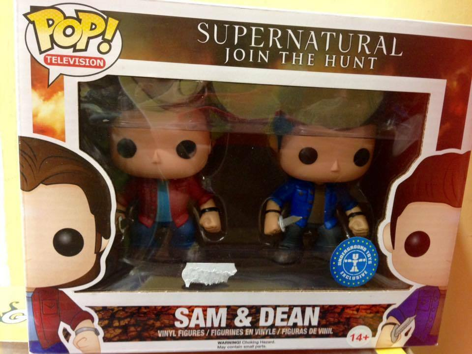 DiverdeimentoKO POP   SUPERNATURAL  SAM & DEAN  promozioni di sconto