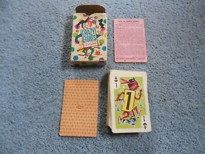 Vintage-1951-Crazy-Eights-Card-Game-Whitman-Complete-45-Cards-4115