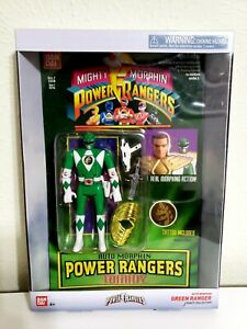 Mighty Morphin Power Rangers Auto Green Tommy Action Figure