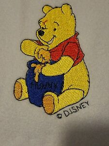 e774e95612ff Image is loading Personalized-Embroidery-Baby-Blanket-Pooh-Bear