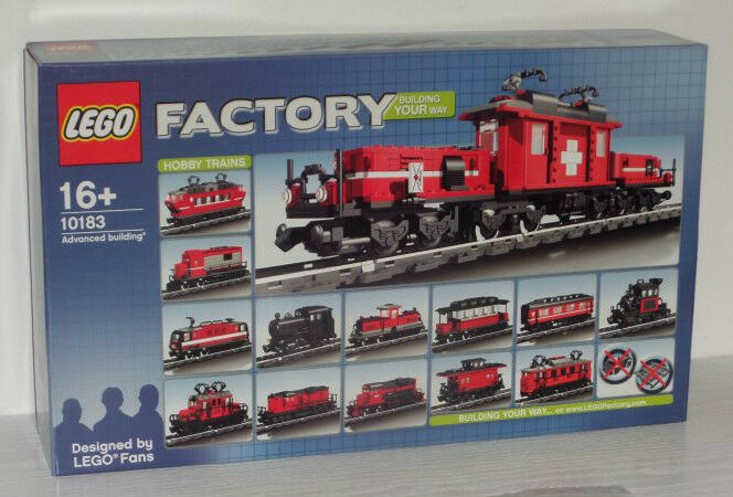 Lego Lego Lego Hobby Train 10183 neu new 8f0451