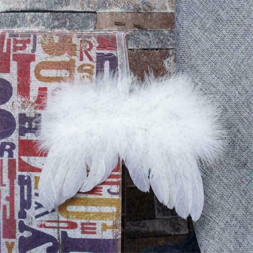 White Feather Hanging Angel Weihnachtsfeier Hochzeit Ornamente G7S0 Q C6J8