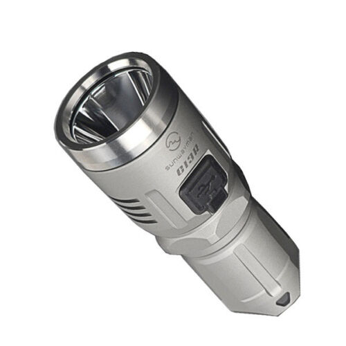 Sunwayman C13R Rechargeable Flashlight 380 Lumens Available in Black or Grey