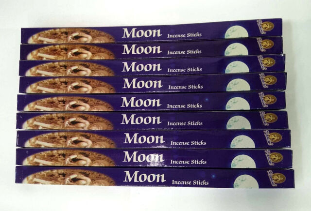Incense Sticks Moon Kamini Best Sellers Mixed Variety 10 Box Pack Total 80 Stick