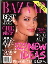 Bazaar Magazine July 2009 Angelina Jolie EX 061616jhe