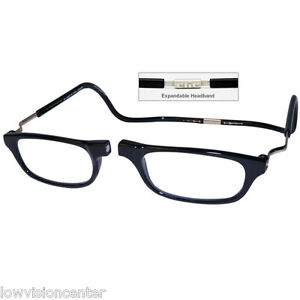 5d25893743f5 1.75 Clic XXL Adjustable Front Connect Magnetic Reading Glasses ...