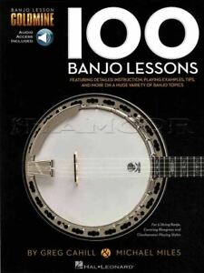 100 Banjo Leçons Tab Music Livre Audio/apprendre à Jouer MÊme Jour ExpÉdition-afficher Le Titre D'origine Pour Assurer Une Transmission En Douceur