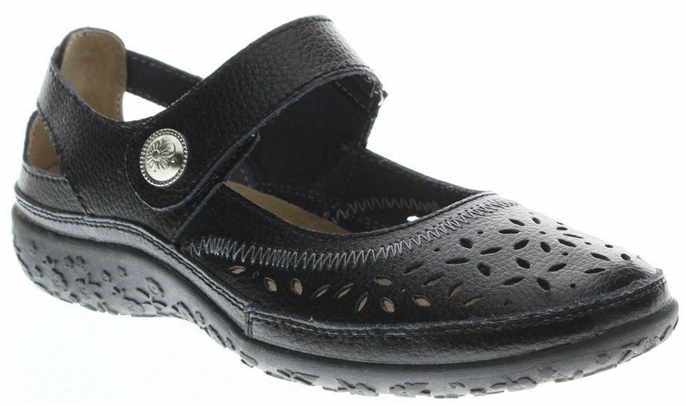 SPRING STEP Donna NATURATE CASUAL COMFORT LEATHER COMFORT CASUAL MARY JANE WALKING Scarpe Sz 10 5d082c