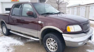 2003  ford  f150    KING RANCH  4X4       SUPERCREW   BY  OWNER