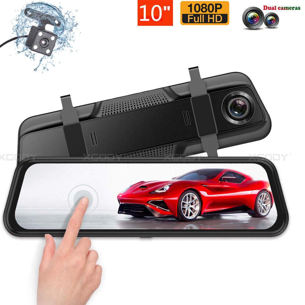 """10"""" HD 1080P Car DVR Dash Cam Video Recorder Rearview Mirror Camera G-sensor New 1080p cam camera car dash dvr Featured mirror rearview recorder video"""